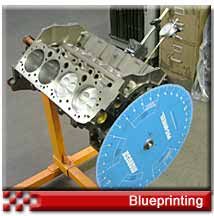 Engine blue printing