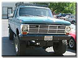 1969 F250 very rare Crew Cab Ford truck